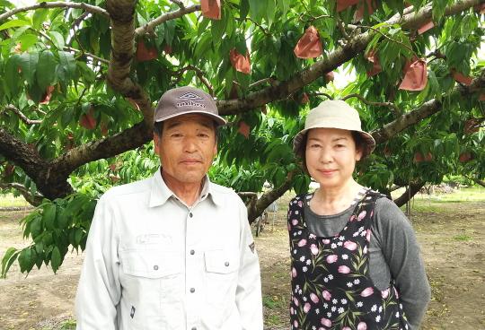竹下農園園主夫妻