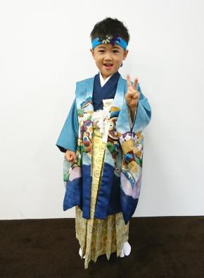 袴着祝い長はちまき着用イメージ