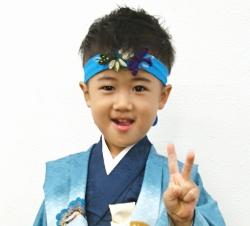 袴着祝い長はちまき(七五三)